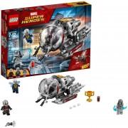 Set LEGO Marvel Ant Man and The Wasp, Exploradores del Reino Cuántico y Thanos Holiday Funko Pop
