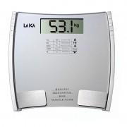 Cantar digital cu analizator Laica PL8032, 150 kg, Gri