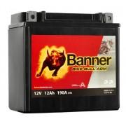 Banner YTX14-BS Bike Bull AGM motorkerékpár akkumulátor - 51214