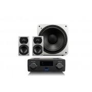 SVS Prime 2.1 + Wireless Soundbase Svart ask