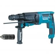 Elektro-pneumatski čekić Makita HR2630T, SDS-plus, izmenljiva glava (HR2630T)