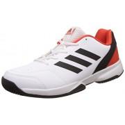 adidas Men's Gumption Ftwwht, Cblack and Energy and Cbla Tennis Shoes - 6 UK/India (39.33 EU)