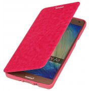 Samsung Galaxy A7 2015 A700F Hoesje Easy Booktype Roze