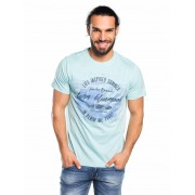 Norte Moda T-Shirt Blue Mood