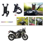 AutoStark Motorcycle Mount Cell Phone Holder/Installed to Motorcycle Rearview mirror Phone Mount For Yamaha Fazer
