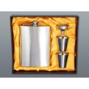 Rozsdamentes csutora, 240 ml, 2 db kupicával és tölcsérrel