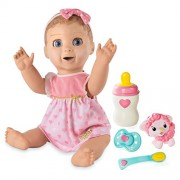 Luvabella Blonde Hair - Responsive Baby Doll Realistic Expressions Movement