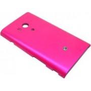 Заден капак за Sony Xperia Acro S розов
