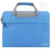 HAWEEL 13.3 inch Laptoptas voor MacBook Samsung Lenovo Sony Dell Chuwi Asus HP (blauw)