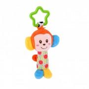 Lorelli Toys - Jucarie din plus cu zornaitoare - maimuta