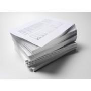 Tipărire Laser Alb-Negru format A4 *100 pagini