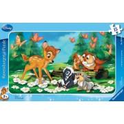 Ravensburger Ravensburger - 06039 - Puzzle avec Cadre - 15 Pices - Bambi et SES Amis