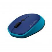 Mouse Logitech M335 Azul Optico Inalambrico WIN/MAC/CHROMEOS
