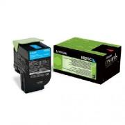 Lexmark Original Toner-Kit cyan return program Projekt 80C2SCE