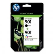 HP Originale OfficeJet J 4540 Cartuccia stampante (901XL+901 / SD 519 AE) multicolor Multipack (2 pz.), Contenuto: 700 pg + 360 pg