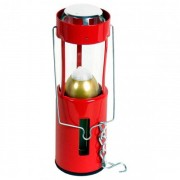 UCO Kerzenlaterne Lampada a candela campeggio rosso/bianco