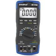 HOLDPEAK 770H Digitális multiméter VAC VDC AAC ADC ellenállás kap. frek. hőmérs. feszültség kereső TRMS.