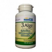 Nutrilab 3 Alge - Spirulina, Chlorella és Vörös alga kapszula - 120db