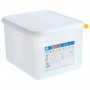 Araven Polypropylene 1/2 Gastronorm Food Container 12.5Ltr (Pack of 4)