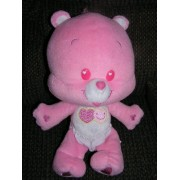 "Care Bears Plush 11"" Love A Lot Baby Cub Bear"
