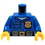 LEGO LOOSE Blue Police Officer Torso