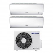 Samsung Climatizzatore Dual Split Con Inverter 9000+12000 Btu Maldives Aj040ncj2eg In R32 A+++