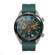 Huawei Watch GT FTN-B19 Stainless Steel with Silicone Strap - Dark Green