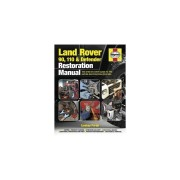 Unbranded Land Rover 90. 110 & Defender Restoration Manual (Haynes Restoration Manuals)