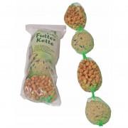 Mix ketting met mezenbollen en pinda's