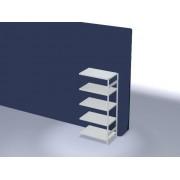 Discountoffice Systeemstelling Aanbouwveld HxBxD 2000x1010x635mm Vakl. 330kg