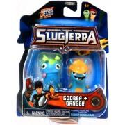 Slugterra Toys, Games & Dart Mini Action Figures Slugterra Mini Figure 2-Pack Goober & Banger [Includes Code For Exclusive Game Items]