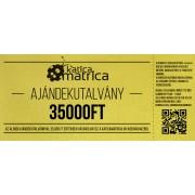 Ajándék kártya 35000FT