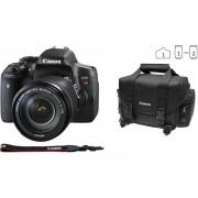 Cámara Reflex Canon Eos Rebel T6i 24.2 Megapixeles Kit Con Lente 18-135 Wifi Bundle Maleta Y Memoria16gb