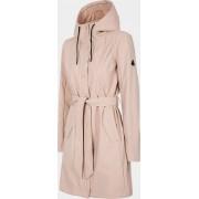 Outhorn Dámský kabát Outhorn KUD603 Světle růžový XS