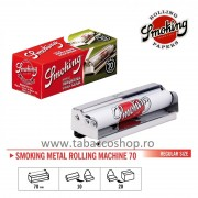 Aparat de rulat tigari Smoking Metal 70mm