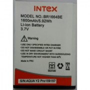 Premium Quality Battery For Intex Aqua Y2 Pro BR1664BE with 1600mah
