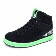 boty dětské ETNIES - Kids Ollie King - BLACK-GREEN