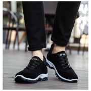 Zapatos Fashion-Cool Para Hombre-Negro Y Azul