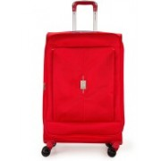 Delsey Passage + 69Cm Check-In Trolley Luggage (Red) Large Briefcase - For Men & Women(Red)