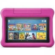 Таблет Amazon Fire 7 Kids Edition, 7-инчов дисплей, 16 GB, Розов калъф, Подходящ за деца