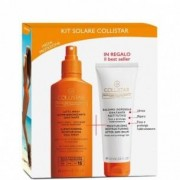 Collistar Latte spray abbronzante spf15 200 ml + balsamo doposole restitutivo 100 ml