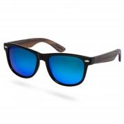Paul Riley Lunettes de soleil noir/bleu bois d'ébène et verres polarisés