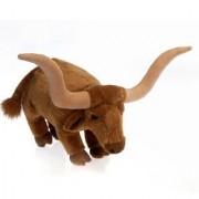 "Standing Longhorn Bull 12"" by Fiesta"