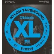 D'Addario ETB92S Tapewound Bass Guitar Strings Medium 50-105 Short Scale