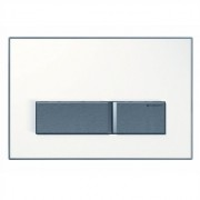 Clapeta actionare rezervor incastrat Dual-Flush, Geberit Sigma50, alb alpin -115.788.11.5