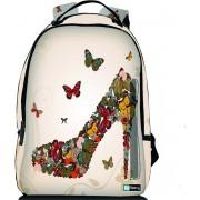 Sleevy laptop rugzak 15,6 Deluxe vlinder pump