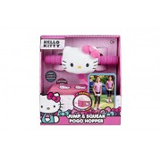 Hello Kitty Jump and Squeak Foam Pogo Jumper by Flybar - Fun & Safe Foam Bungee Pogo Hopper Toy With Cute Plush Hello Kitty Head, For Ages 3 & Up - Genuine Sanrio Product