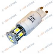 Lampadina a LED G9 3.5Watt HQ 19mm SMD5630 Bianco Puro Freddo