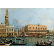 Puzzle Ravensburger - Canaletto: Ducal Palace, 1.000 piese (15402)