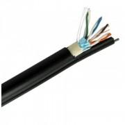 utp / ftp kábel kültéri feszítő szállal cat5e